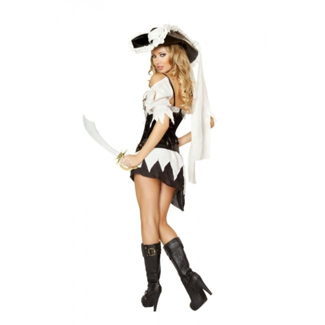 5pc Sexy Shipwrecked Sailor Costume - Costumes
