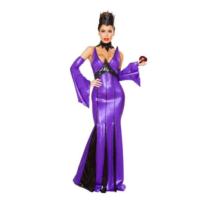 5pc Wicked Queen - Small / Purple/Black - Costumes