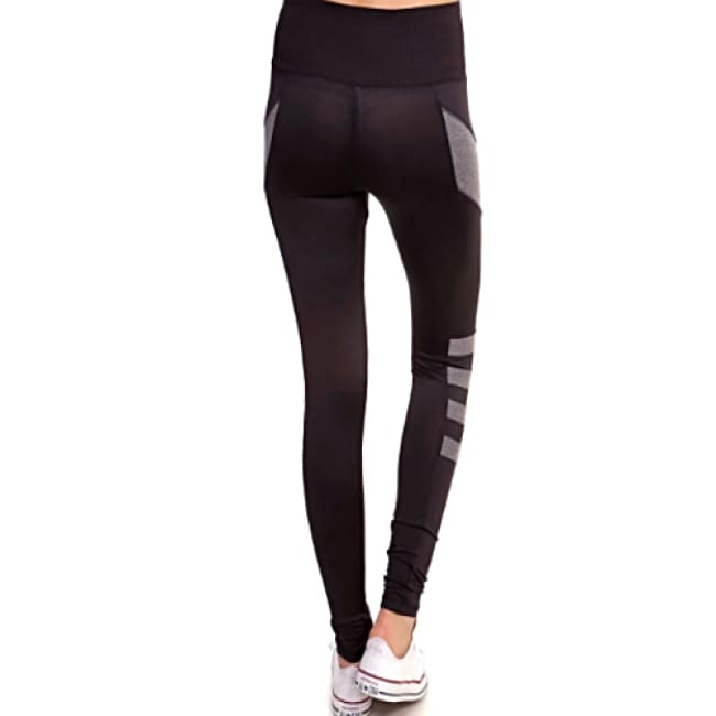 Active Wear High Waist Sports Leggings - Leggings