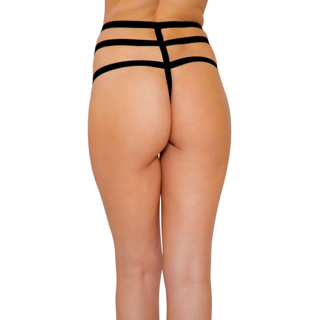 Applique Strappy Shorts - Panties