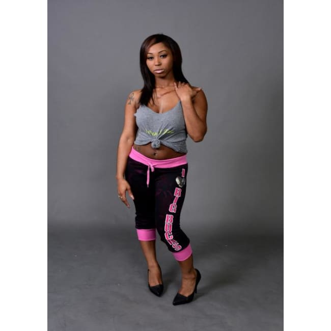 Women's Bucks Camo Fleece Capri Leggings