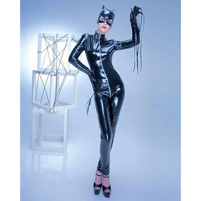 Cat Woman Costume - S / Black - Costume
