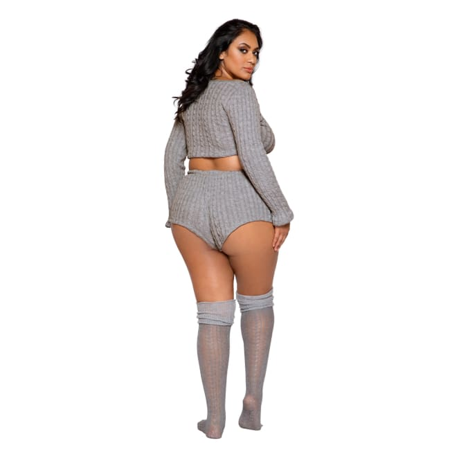 Cozy & Comfy Pajama Short Set - lingerie