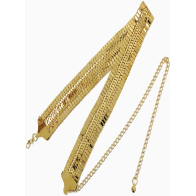Women's Flat Snake Chain Belt