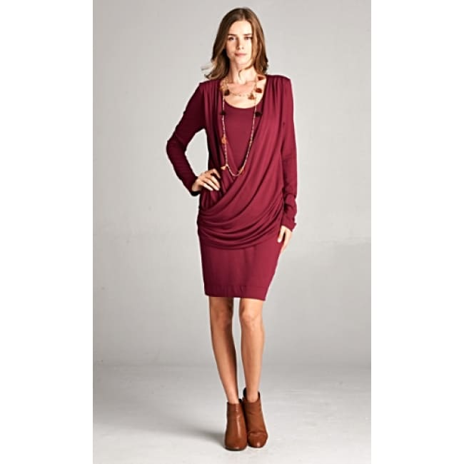 Frontal Crisscross Flirty Dress - Dresses