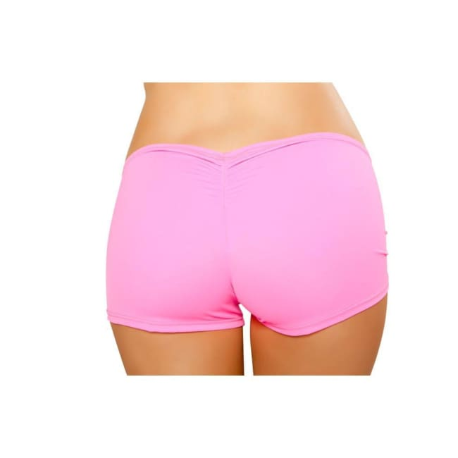 Full Covered Shorts - Hot Pink - Hot Pink / S/M - Shorts