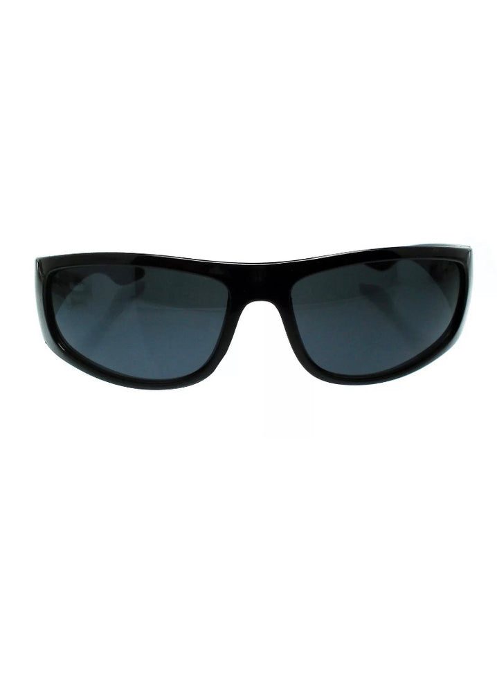 Dark lens OG biker black sunglasses locs
