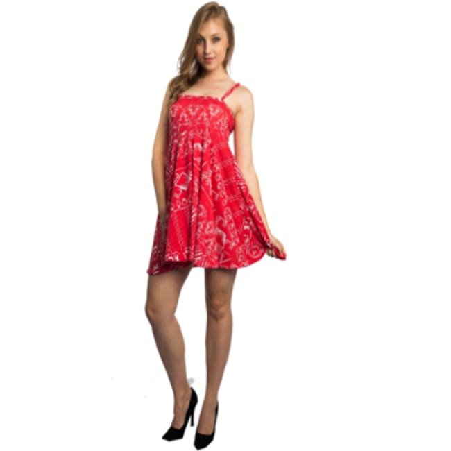 Ladies Pleated Skater Dress - Dresses