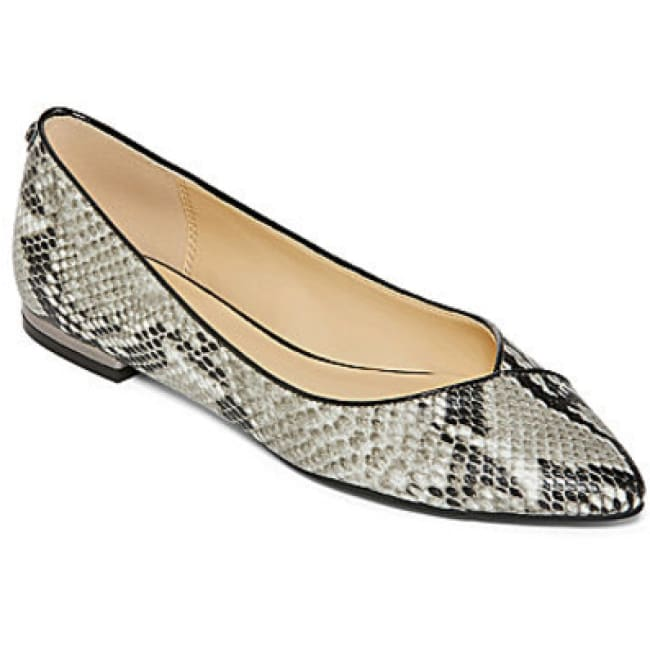Liz Claiborne Aba Pointed-Toe Flats - 7 - Shoes