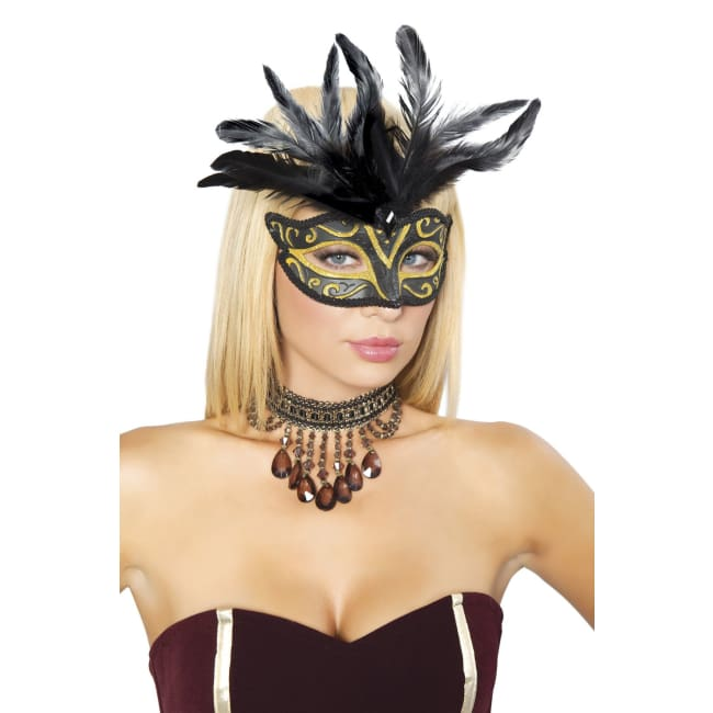Masquerade Mask - As Shown / O/S - Mask