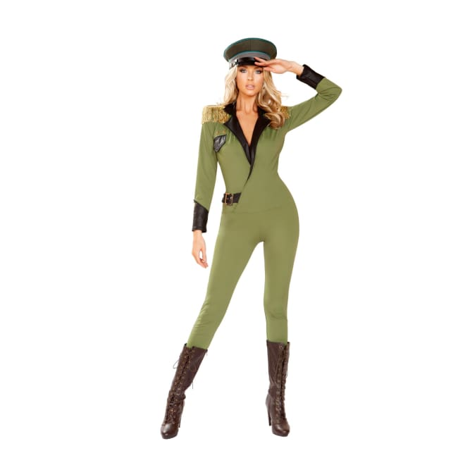 Military Army Costume Set - Small/Medium / Green - Costume