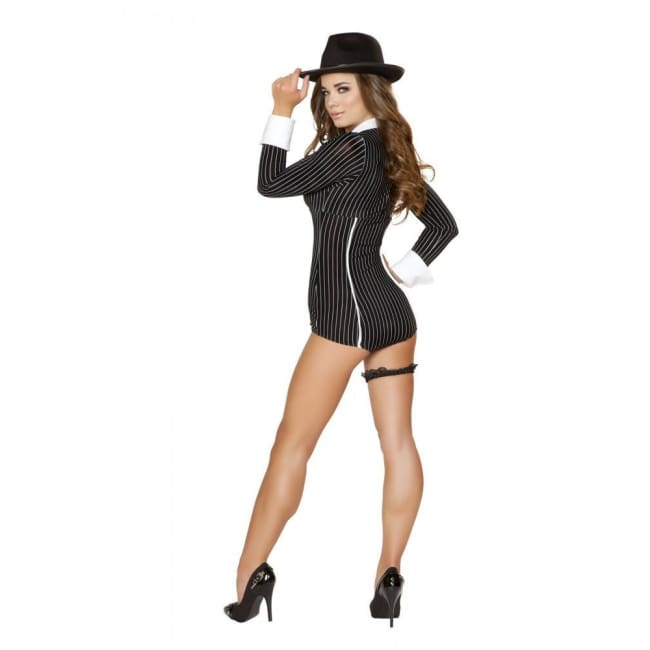 Mischievous Mobster Babe Costume - Costumes