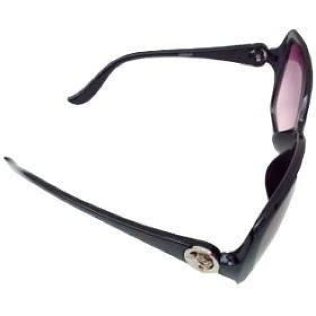 Panther Embellished Sunglasses - Black - Glasses