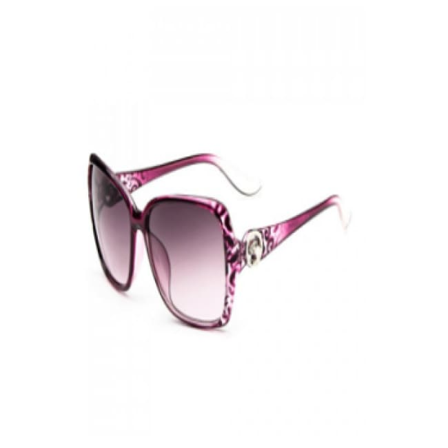 Panther Embellished Sunglasses - Pink - Glasses