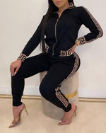 Women's Elegant Fashion Two -Pieces Suit Sets