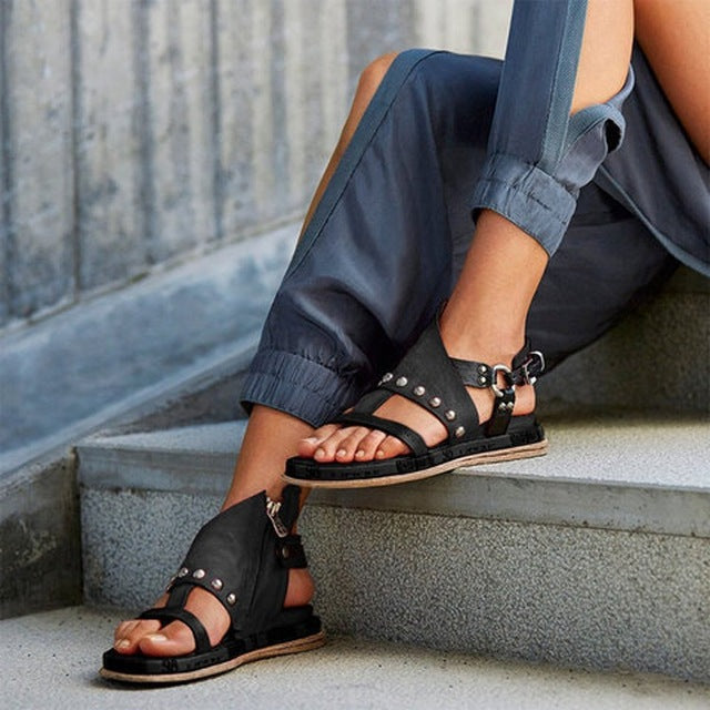 Women's Open Toe Gladiator Sandals