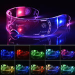 LED Laser Glowing Rave Glasses sexy clothing online