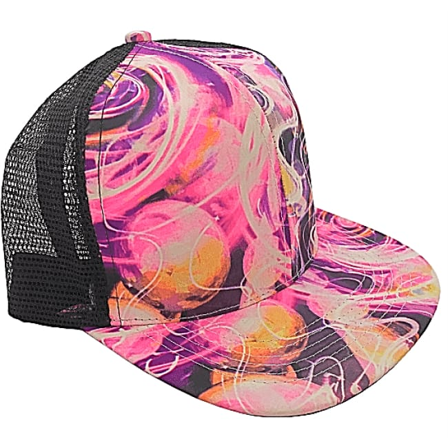 Hendrix Purple Haze Adjustable Snap Back Hat