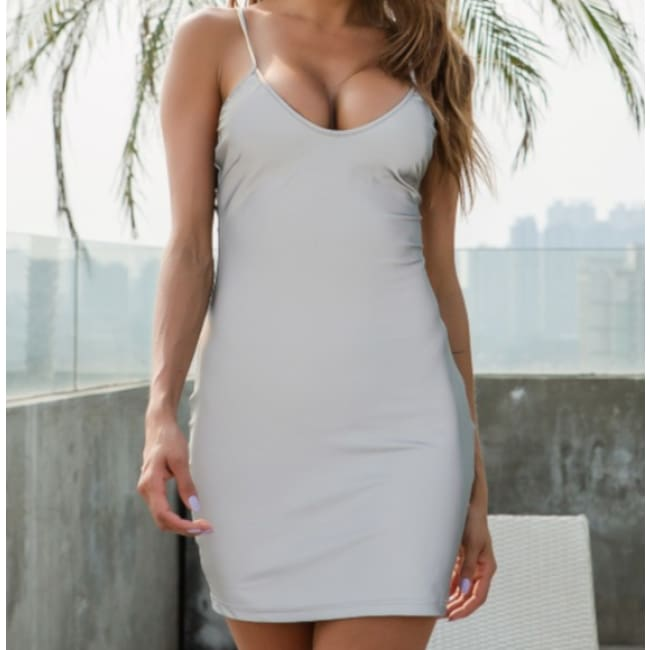 Reflective Wrap Breech Dress - Dresses