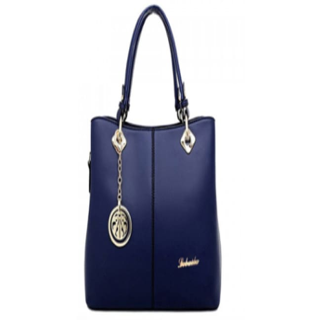 Sasha Pendant Design Purse - Blue - Bags