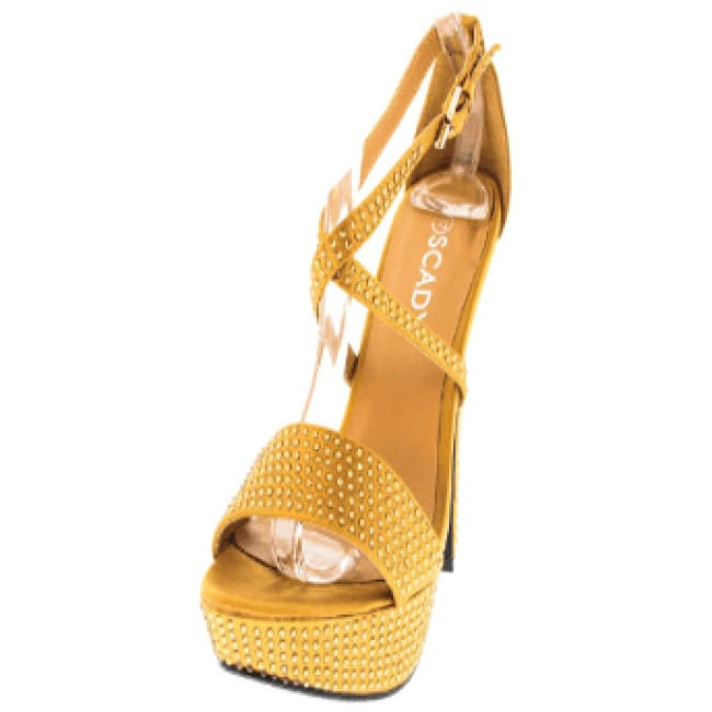 Scady High Heel - 6.5 / Gold - Shoes