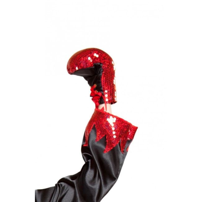Sequin Boxing Gloves - Costumes Accessories