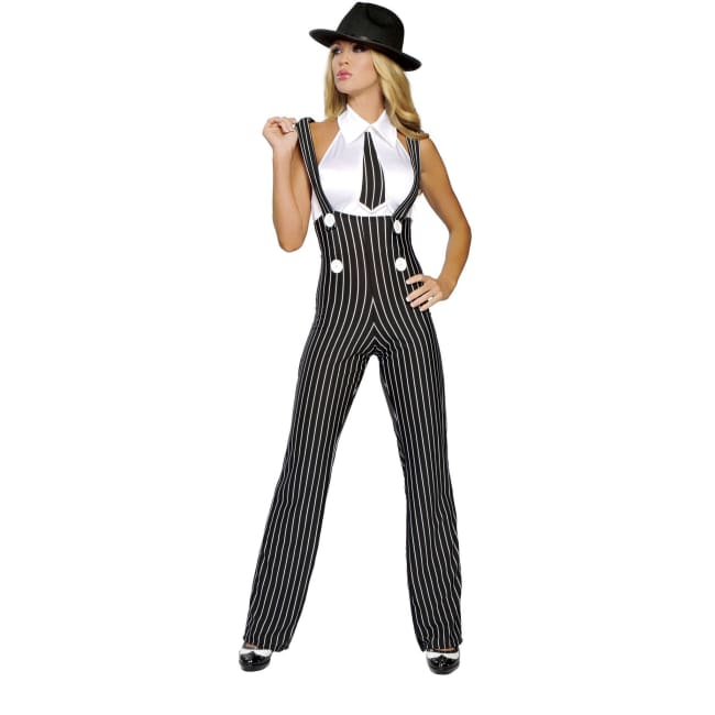 Sexy Gangster Costume Set - S/M - Costumes