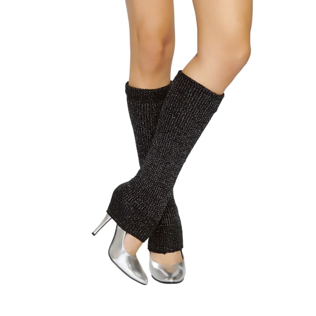 Solid Color Sparkle Leg Warmers - Leg Warmers