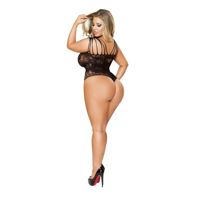 Strappy Romper Bodystocking - lingerie