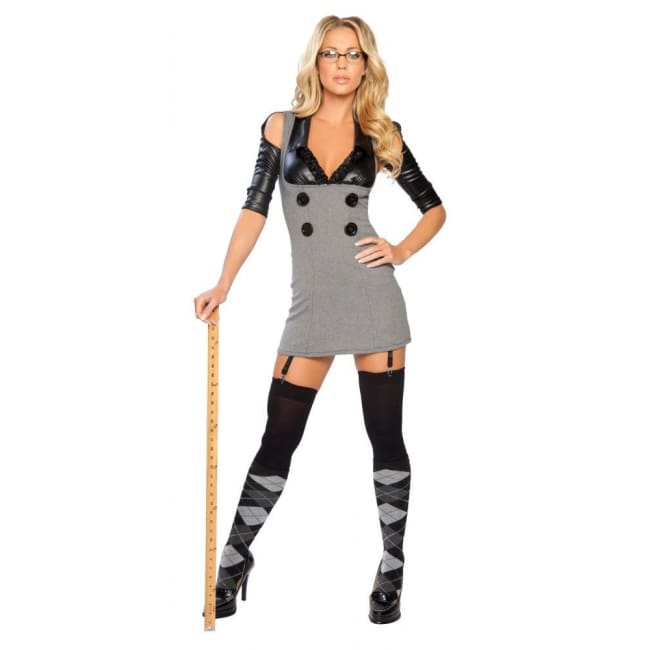 Sultry Detention Diva Costume - Costume