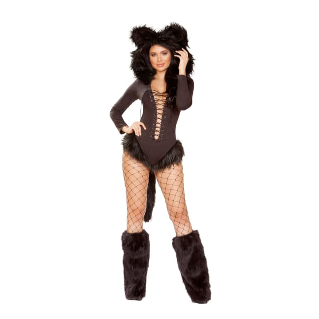Vicious Cat Costume Set - Small / Black - Costume