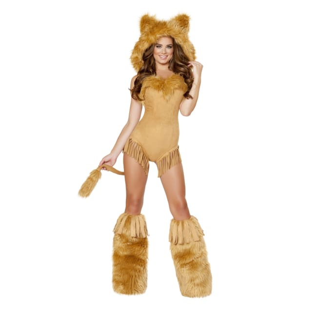Vicious Lioness Costume Set - Large / Honey - Costumes