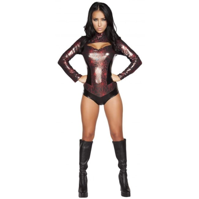 Webbed Warrior Costume - As Shown / Small - Costumes
