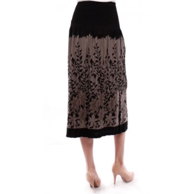 Womens Floral Print Skirt - Skirts