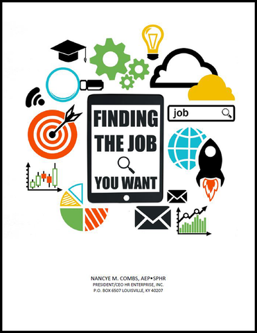 Pamphlet: Finding the Job You Want