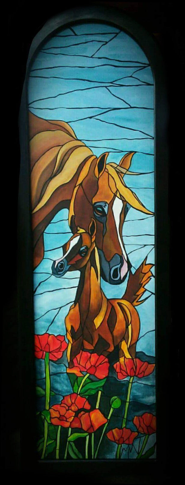 Stained Glass Original Paintings