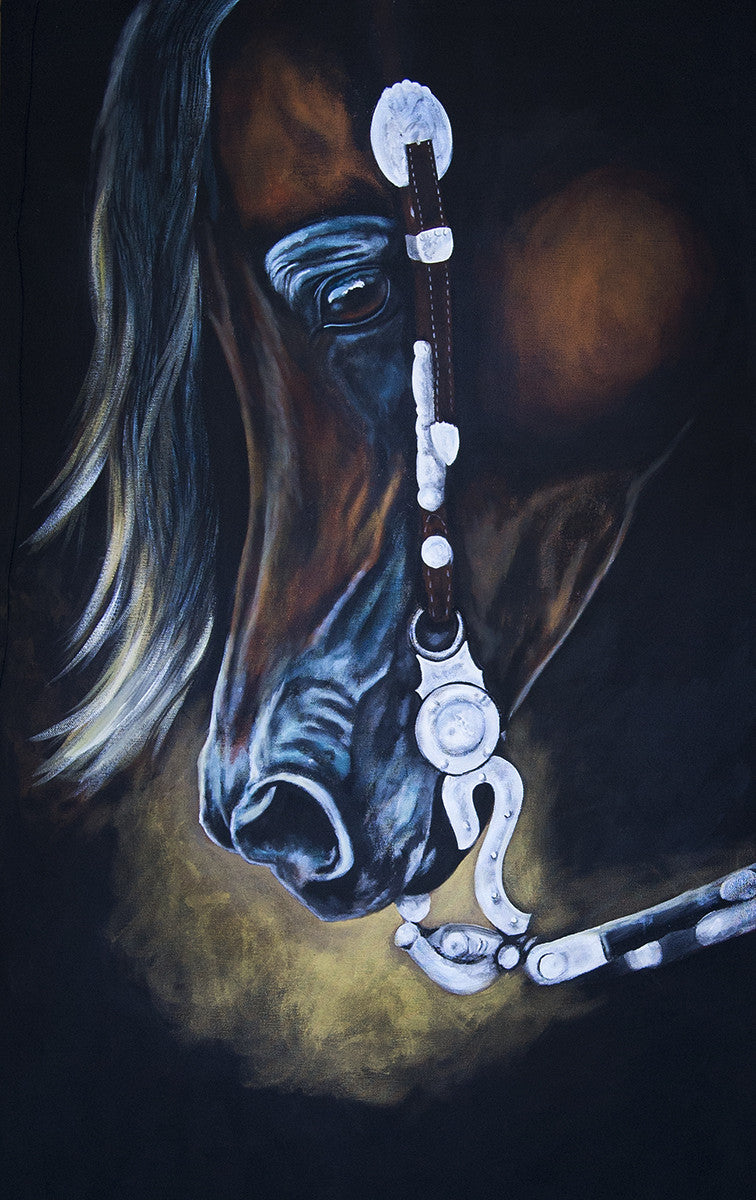 "Western Pleasure Canvas Print 30"" x 40"""
