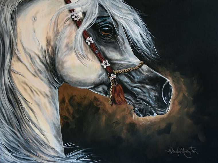 "Al Adeed - 30"" x 40"" Canvas Print"