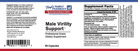 MALE VIRILITY SUPPORT