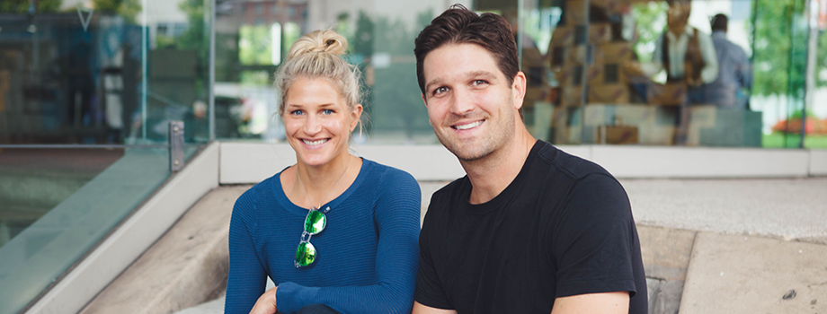 Founders, Kathryn Moos and Jeff Mroz