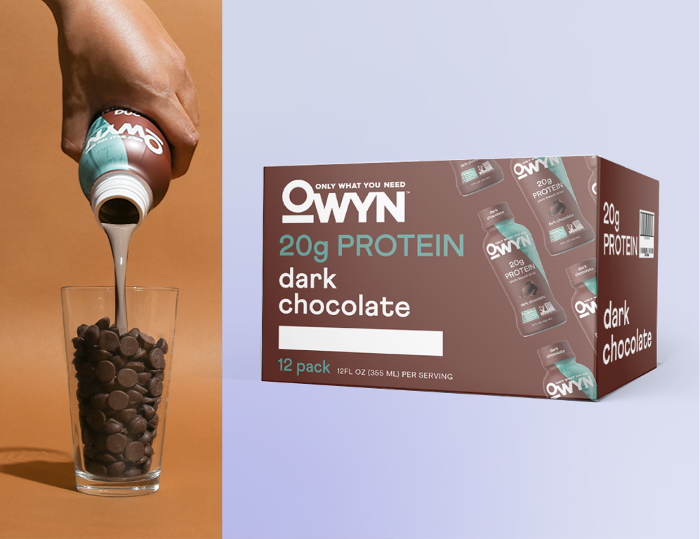 Claim your free 12-pack of OWYN