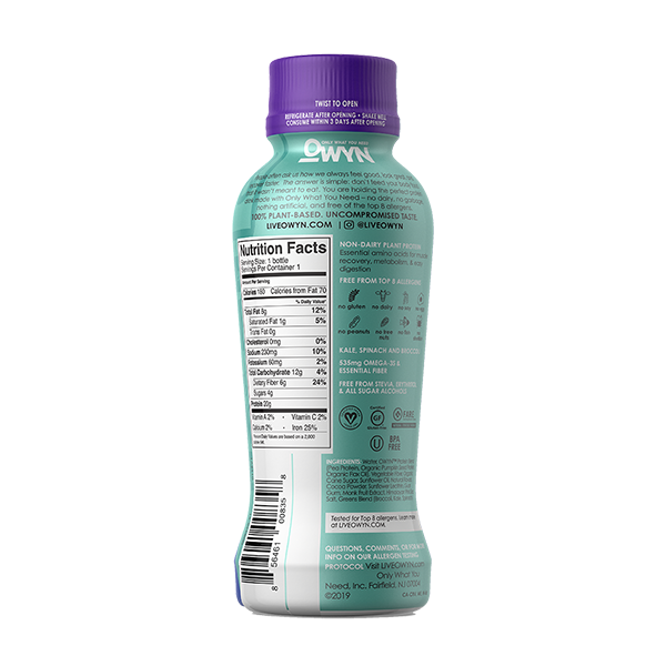 Cookies and Creamless Protein Drink - 12 ounces, 4 bottles
