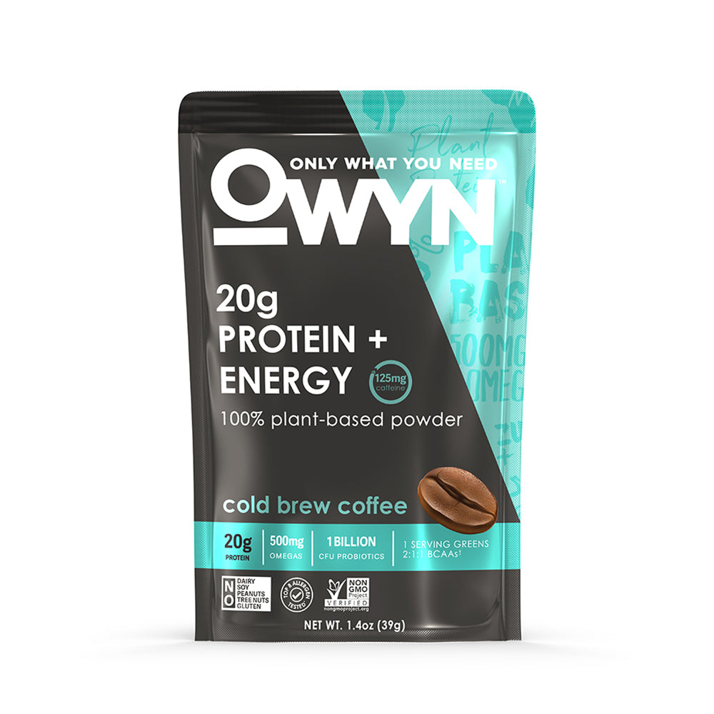 Single Serving Protein Powder Packet