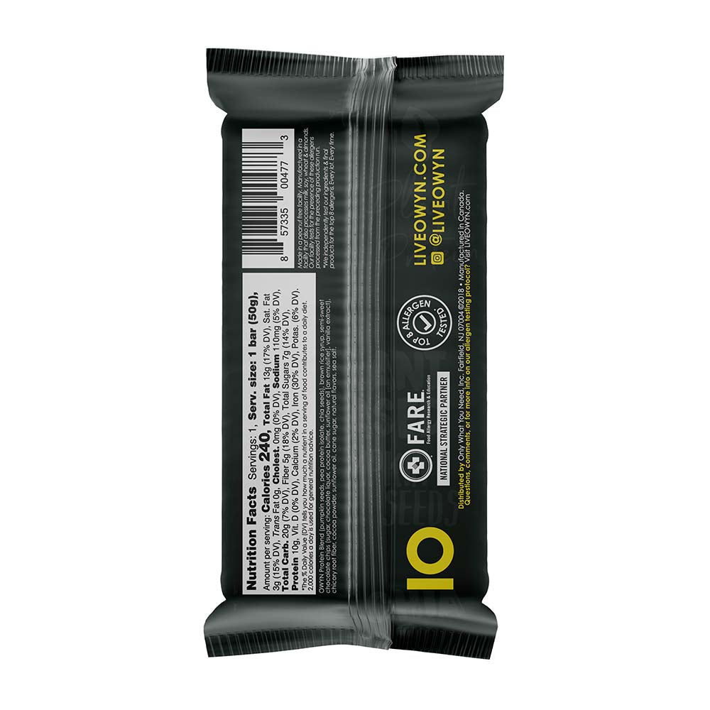 Vegan Plant-Based Protein Bars