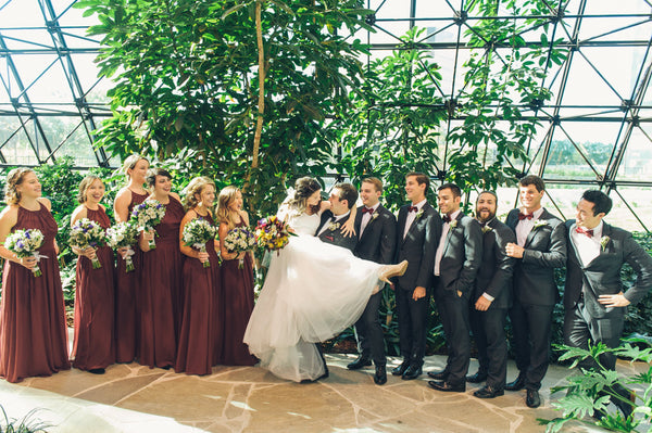 Green Oasis Wedding