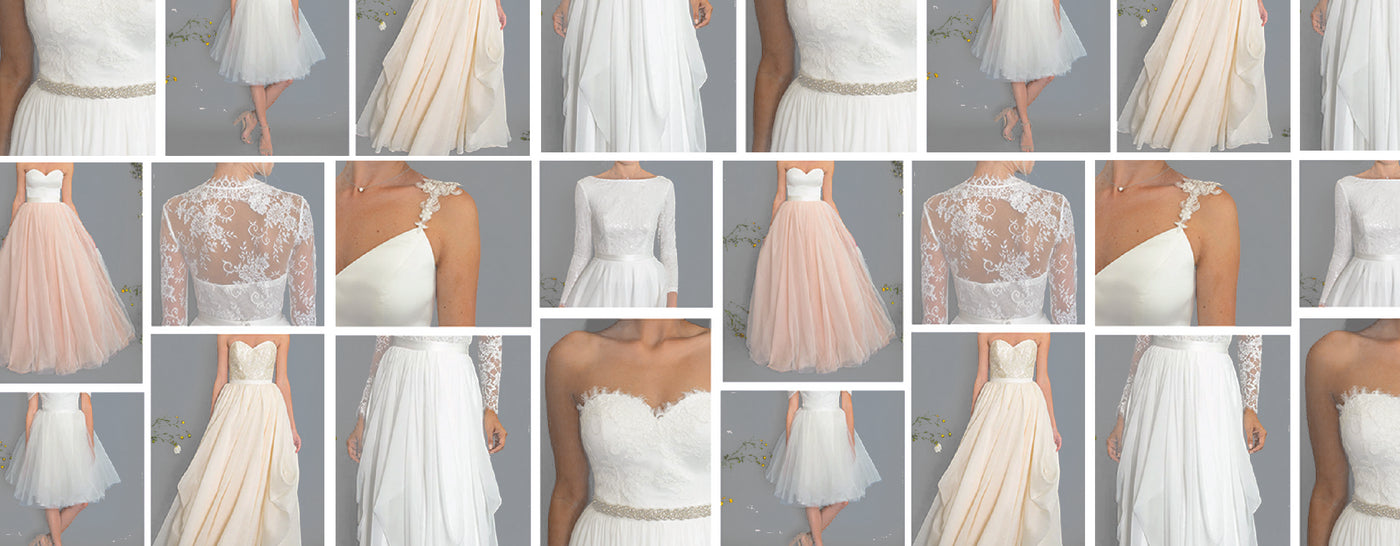 A luxurious and personalized wedding dress experience