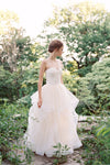 Verona Corset & Big Celebration Skirt - Bridal Separates. Custom made wedding dress by Lace & Liberty