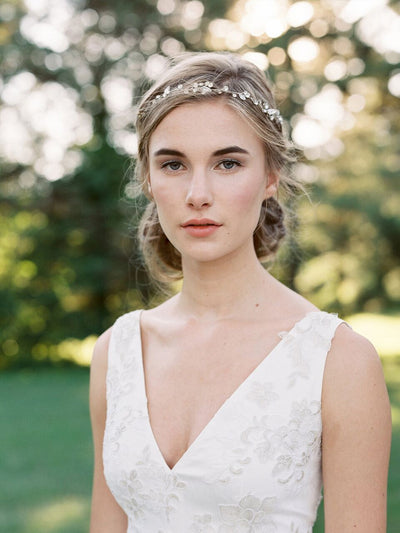 Waterlily Bridal Headpiece. Lace & Liberty