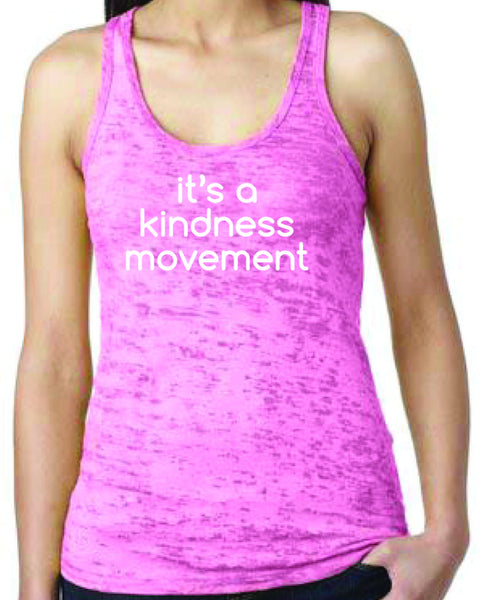 It's a Kindness Movement Racerback Tank