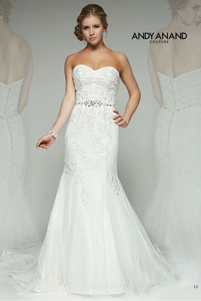 Lace FIT & FLARE Wedding Dress